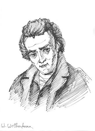 William Wilberforce. Ilustratie: Cristi Bandi