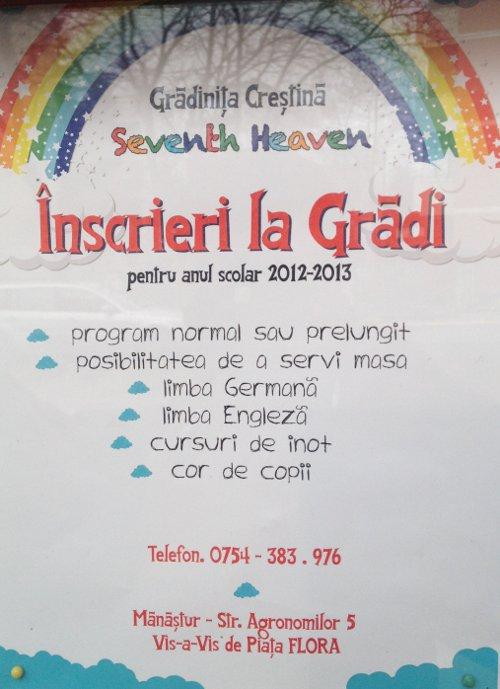 Gradinita Creștina Seventh Heaven
